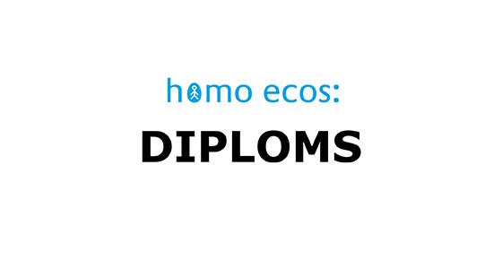 Homo ecos: diploms